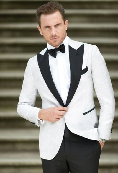 Groomsmen Groom Tuxedos Best Man New Style Coral Shawl Lapel Men Suits Wedding Best Man 2 pieces ( Jacket+Pants+Tie ) C545