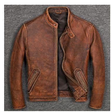 Free shipping 6-11 days.Plus size Brand Classic style cowhide jacket,mens 100% genuine leather jackets,biker vintage quality coat.sales