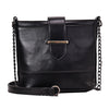 European women shoulder bag chain handbag 2019 crossbody bags for women messenger bag black leather Drop shipping