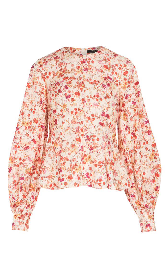 KAITLYN SEPIA BLOSSOM TOP