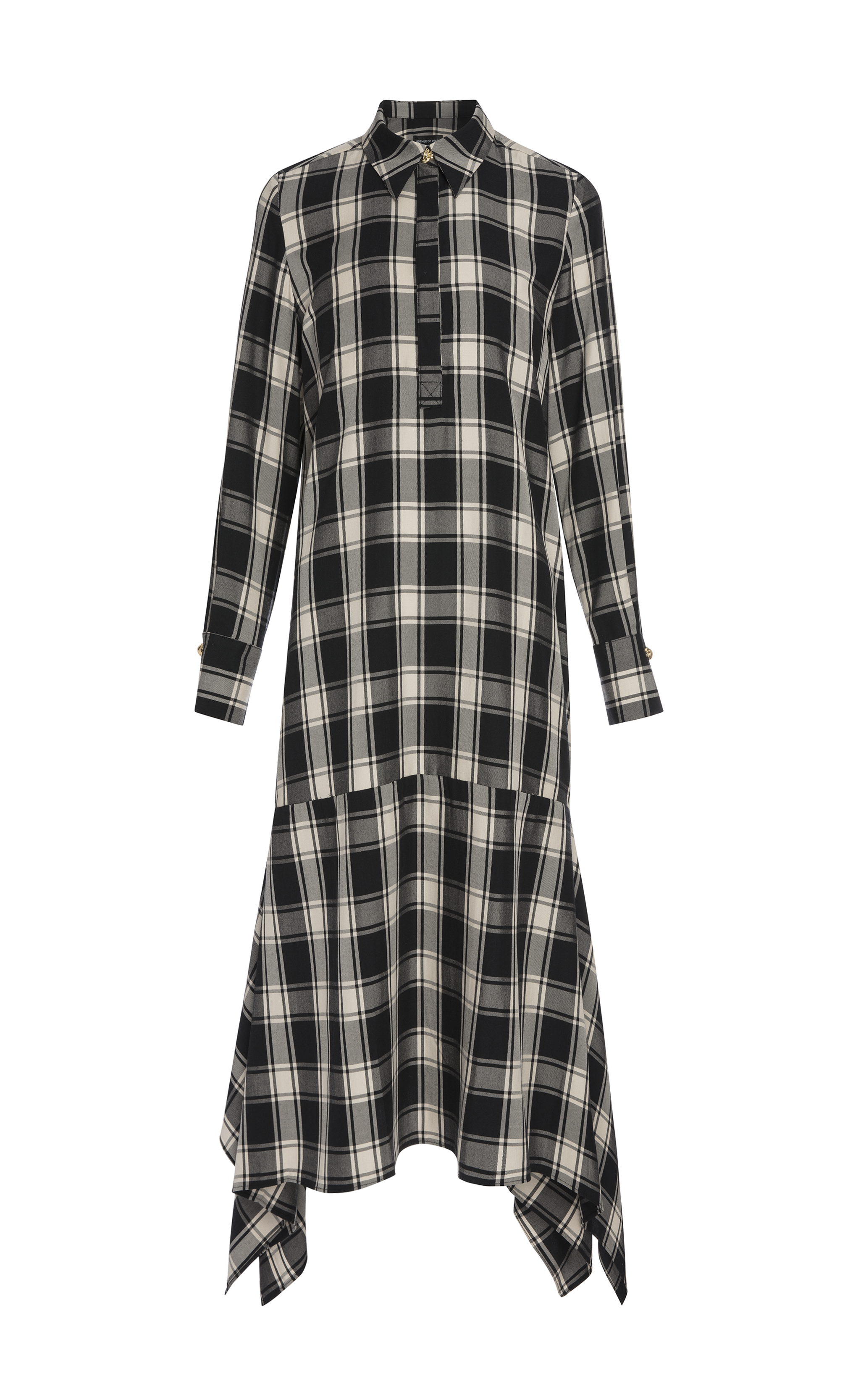 WHITNEY CHECK DRESS