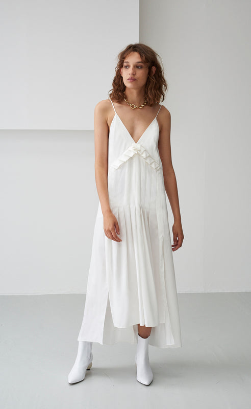 AURAURA WHITE DRESS