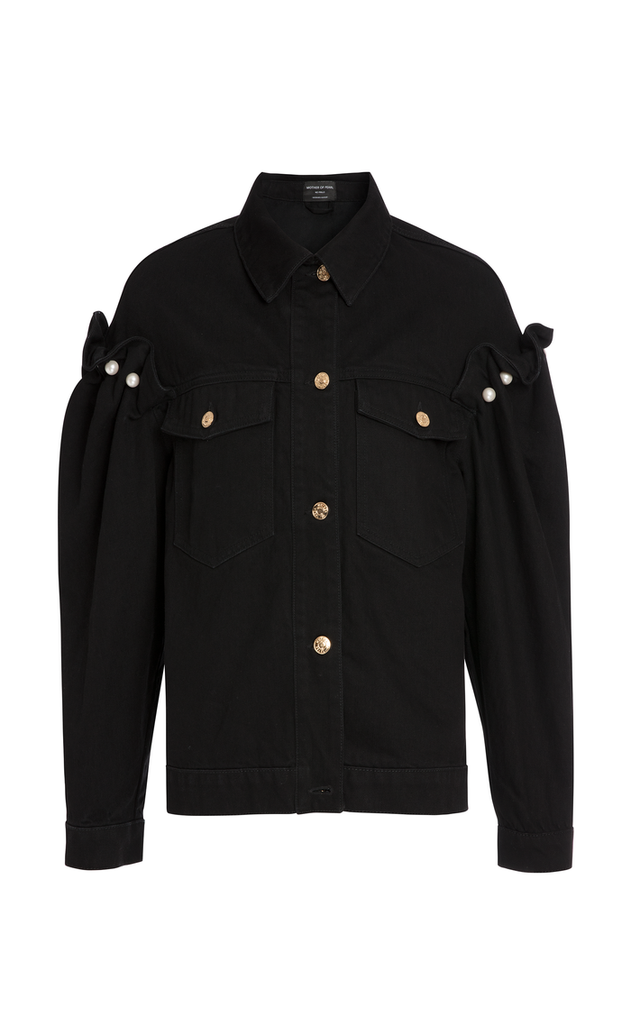 BRENNON BLACK DENIM JACKET