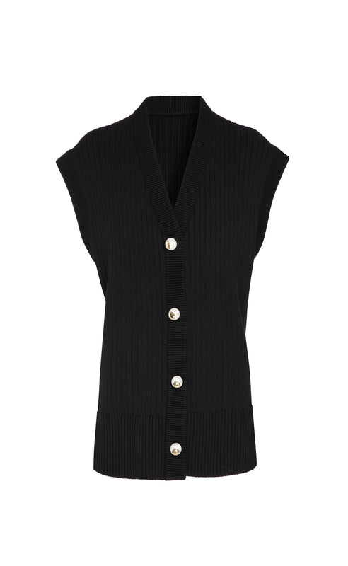 CASEY BLACK CARDIGAN