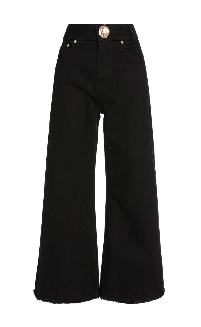 CROPPED CHLOE JEANS BLACK