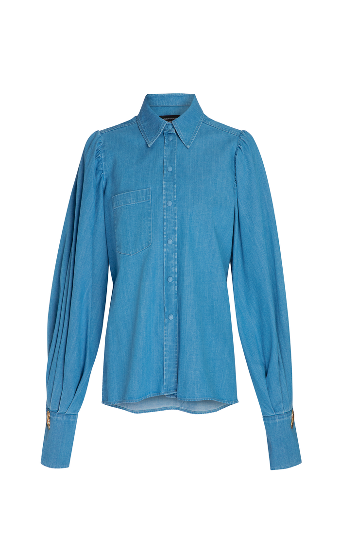 DARCIE BLUE DENIM SHIRT