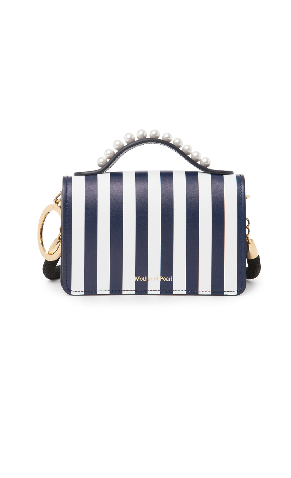 JUDE BAG NAVY STRIPE