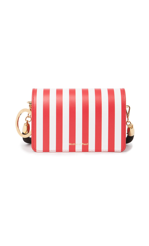 JUDE BAG RED STRIPE