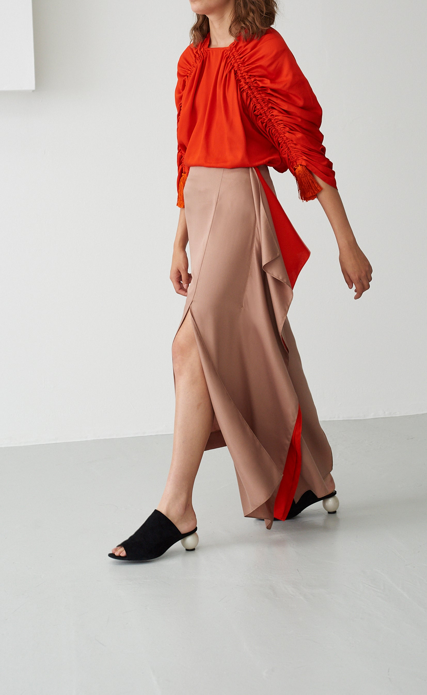 JUDITH TAN & CORAL SKIRT