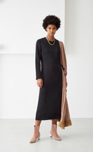 LOUISE BLACK & TAN DRESS