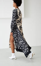 LOUISE BLACK & IVORY FLORAL DRESS