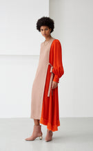 LOUISE TAN & CORAL DRESS