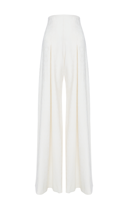 LOLA IVORY TROUSERS