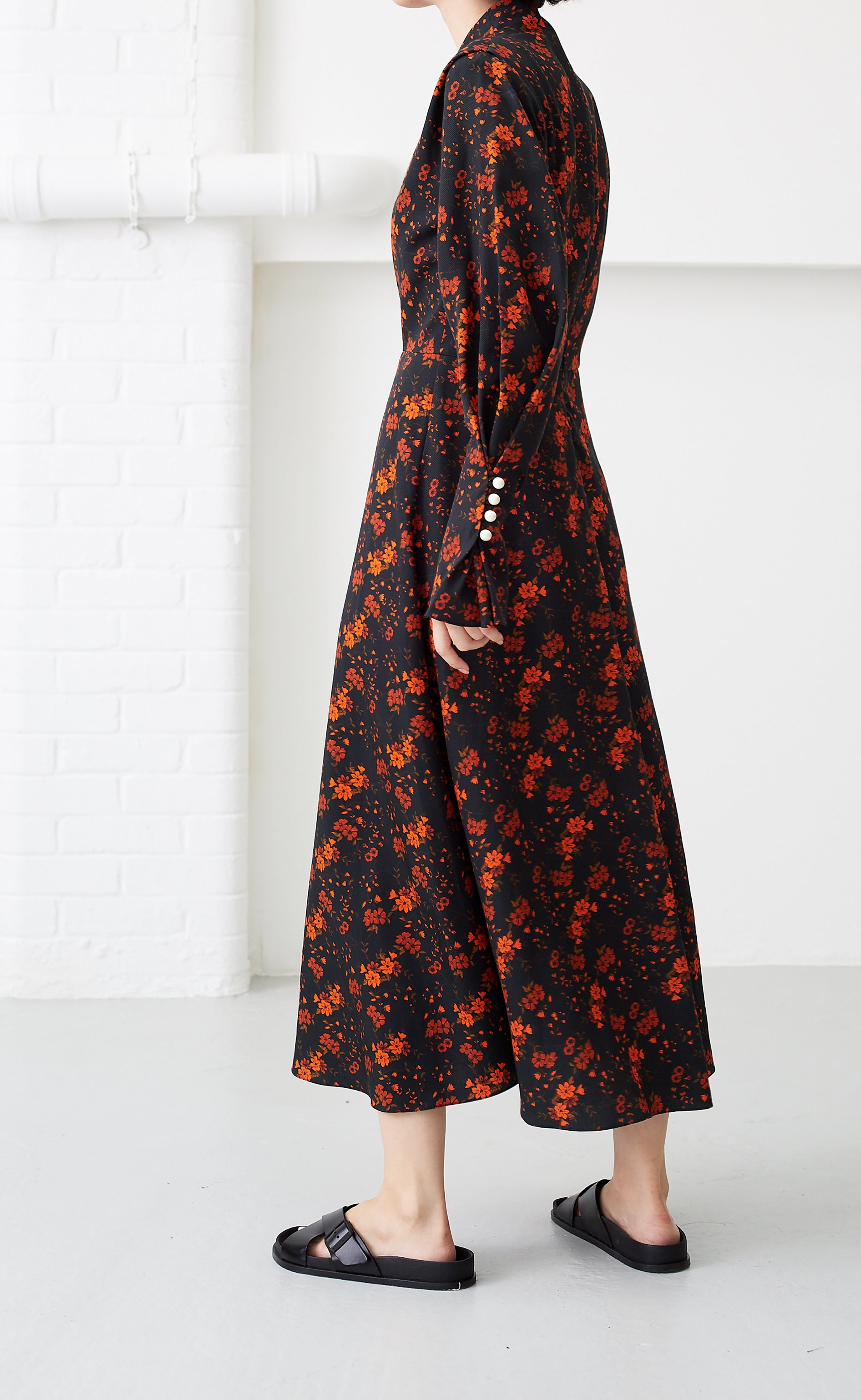MICHELLE NOIR BLOSSOM DRESS