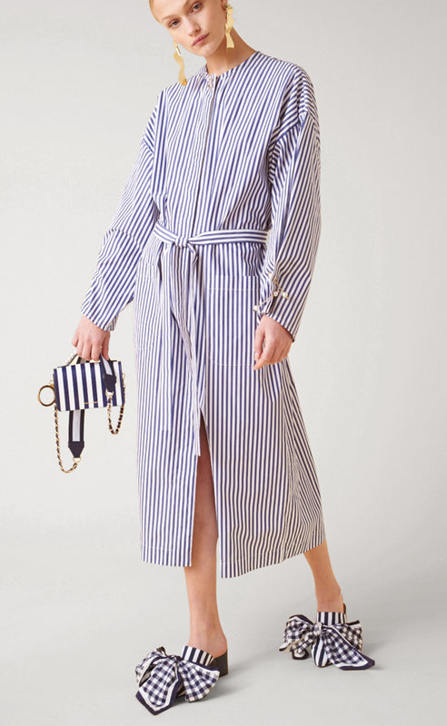 MIREYA STRIPED DRESS