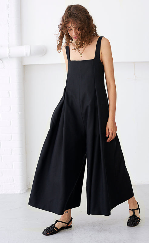 NALA BLACK JUMPSUIT