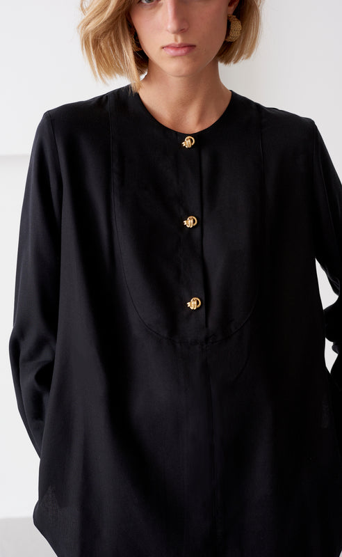 ORLA BLACK SHIRT