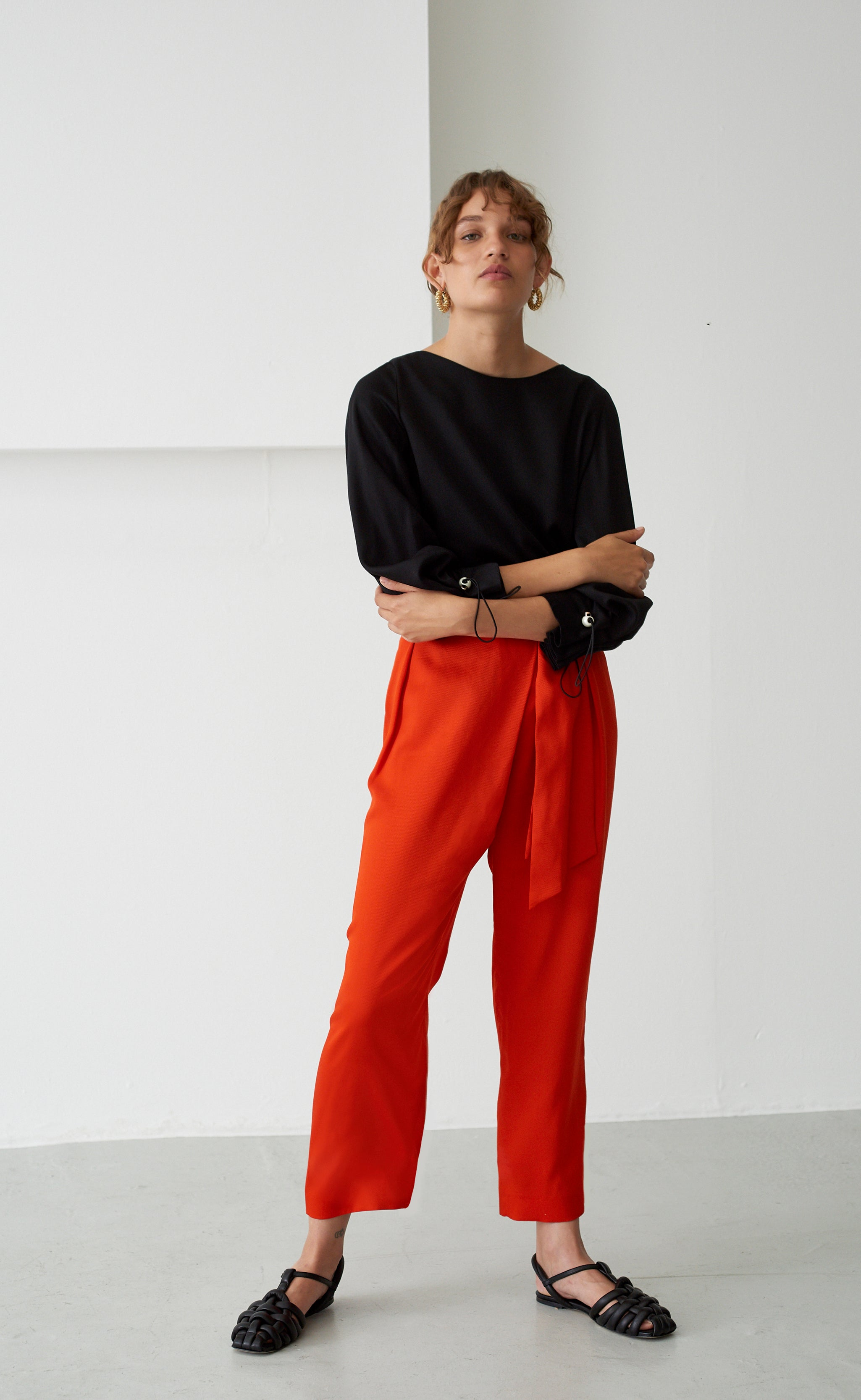 PALOMA CORAL TROUSERS