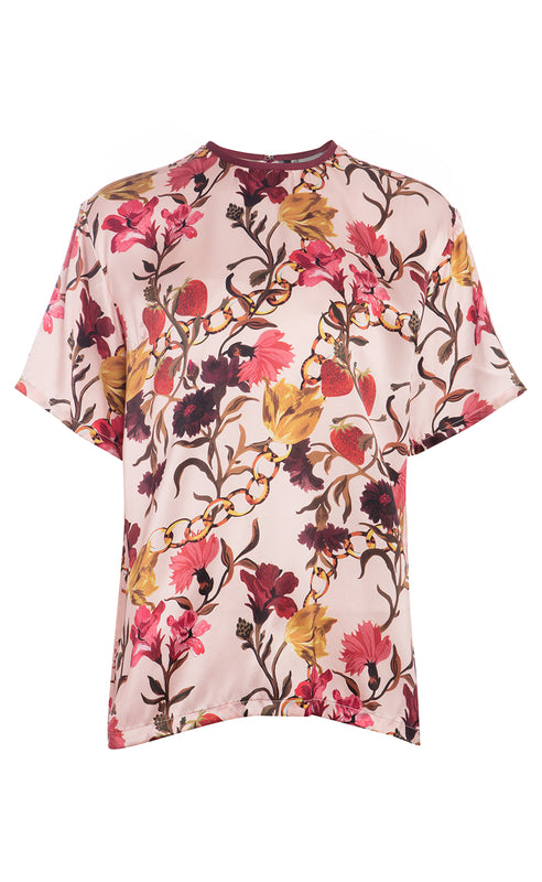 SHIRLEY SILK T-SHIRT
