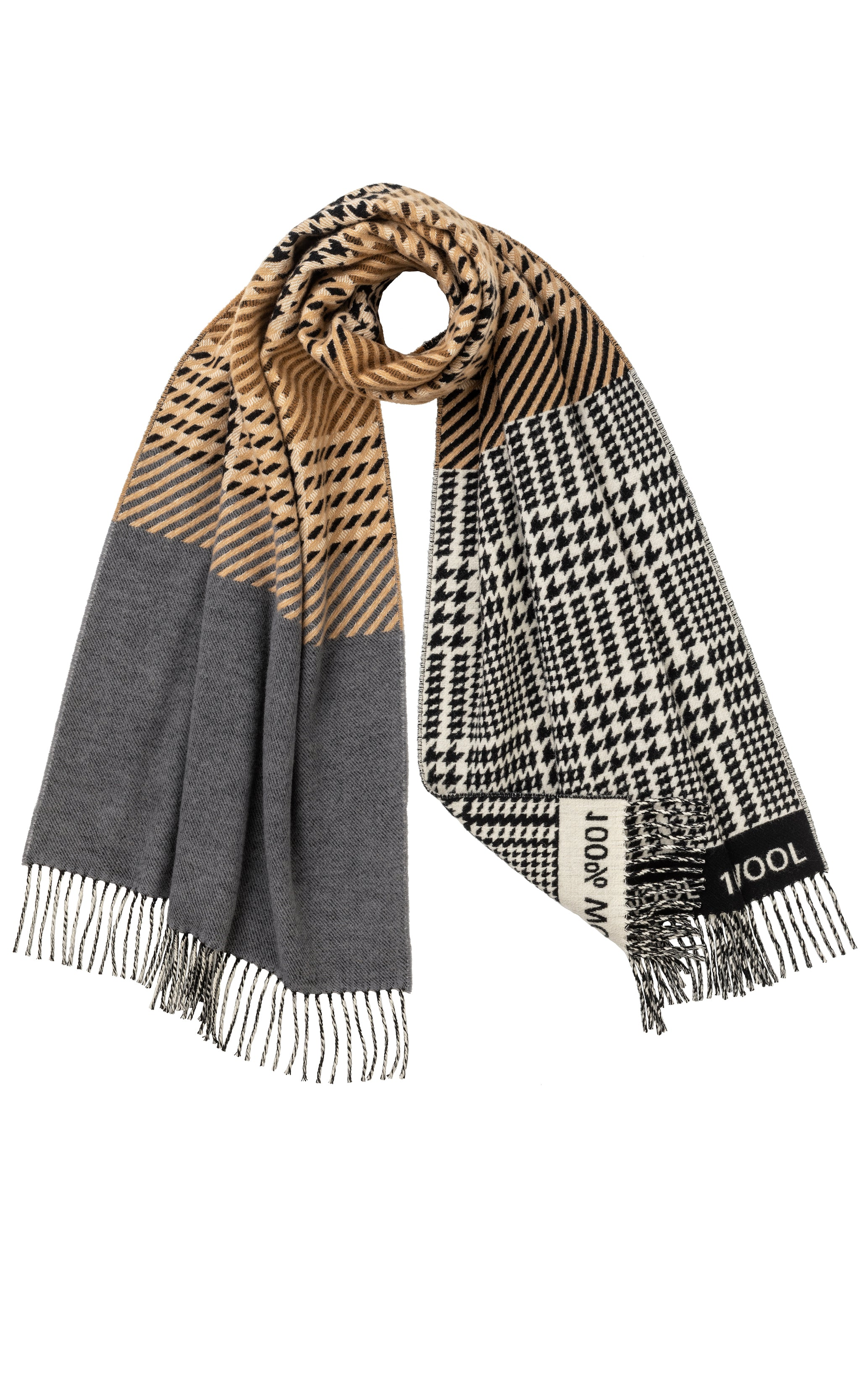 THE MURRAY SCARF- MOTHER OF PEARL X THE CAMPAIGN FOR WOOL