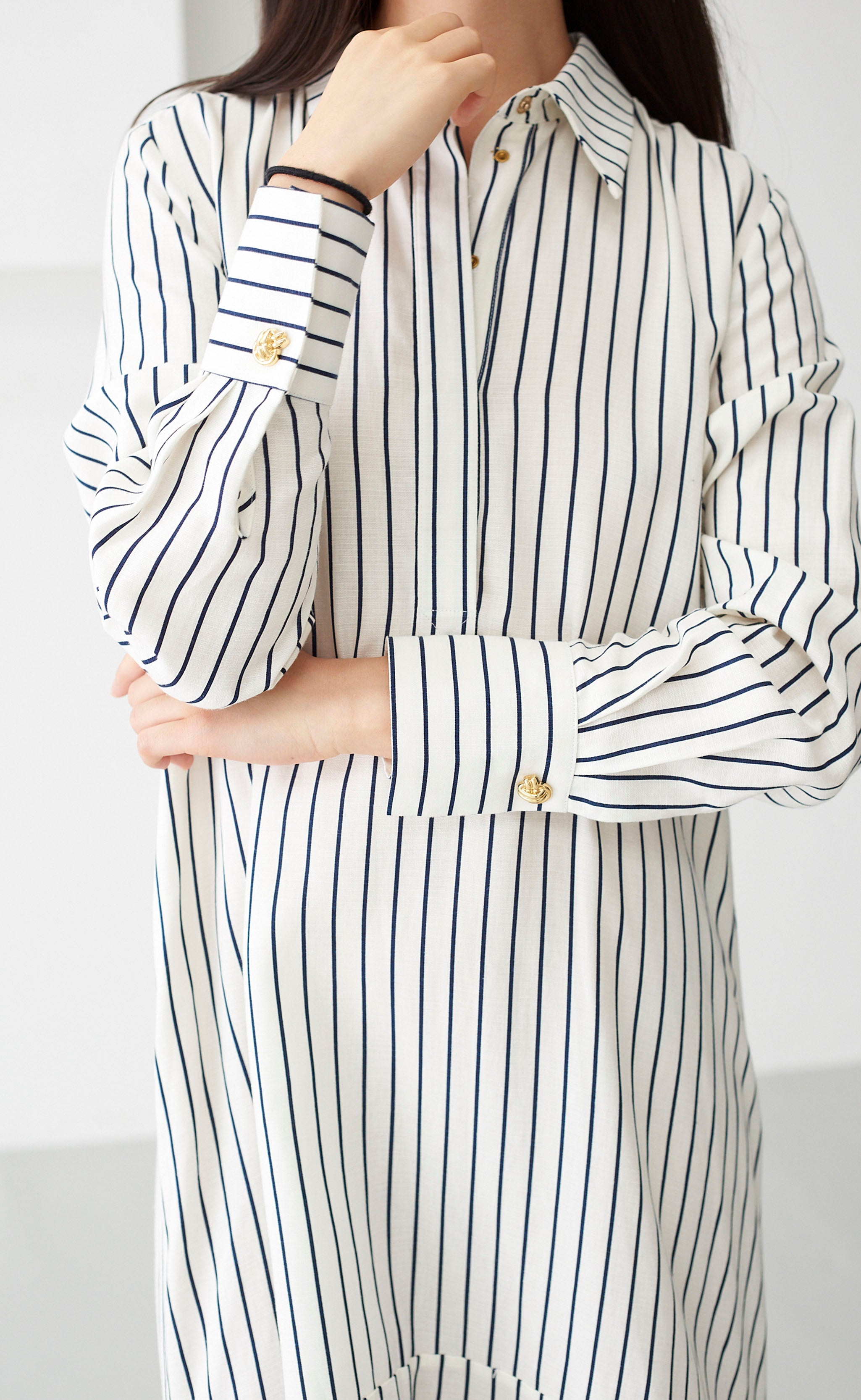 WHITNEY STRIPE DRESS
