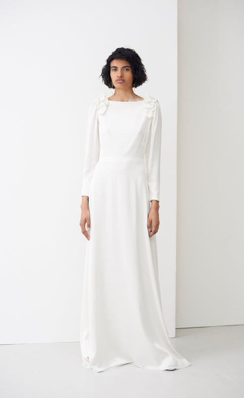 ZULA IVORY BRIDAL DRESS