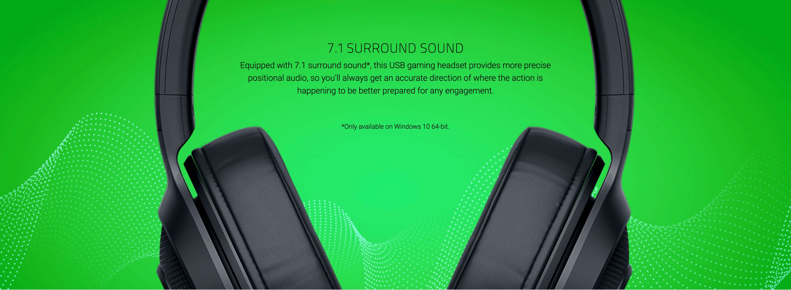 7.1 SURROUND SOUND