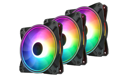Deepcool Fan RGB CF 120 Plus (3xFan) ADD-RGB