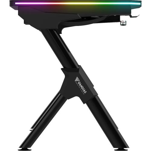 Gamdias Daedalus M1 RGB Gaming Desk Red