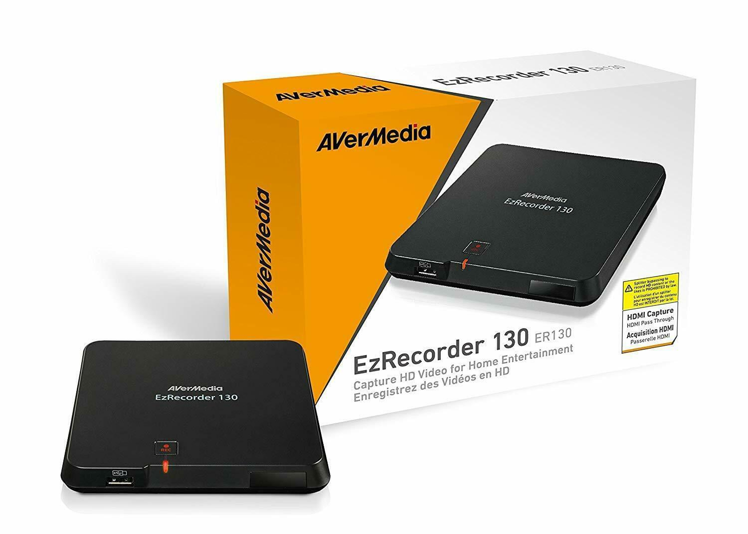 Avermedia Ezrecorder 130 HD Game Capture