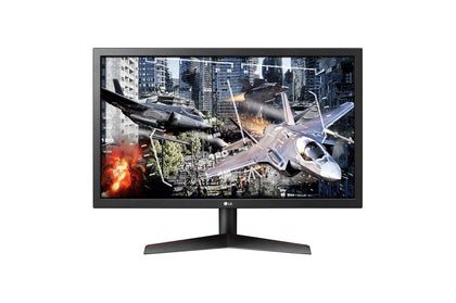 LG 24GL600F-24 inch Gaming Monitor 144Hz, 1ms MBR, FreeSync, Black