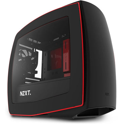 NZXT Manta Mini Itx Matte Back Red