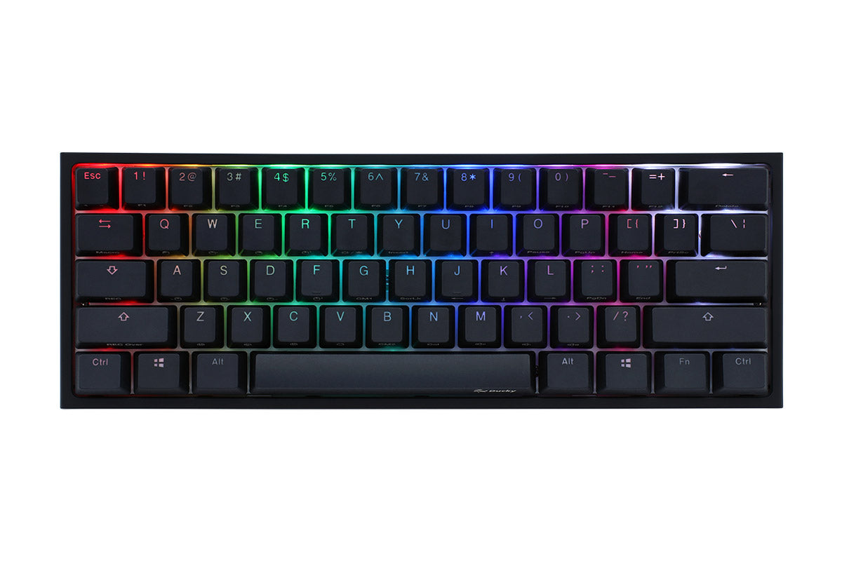 DUCKY ONE 2 MINI RGB Cherry Speed Silver