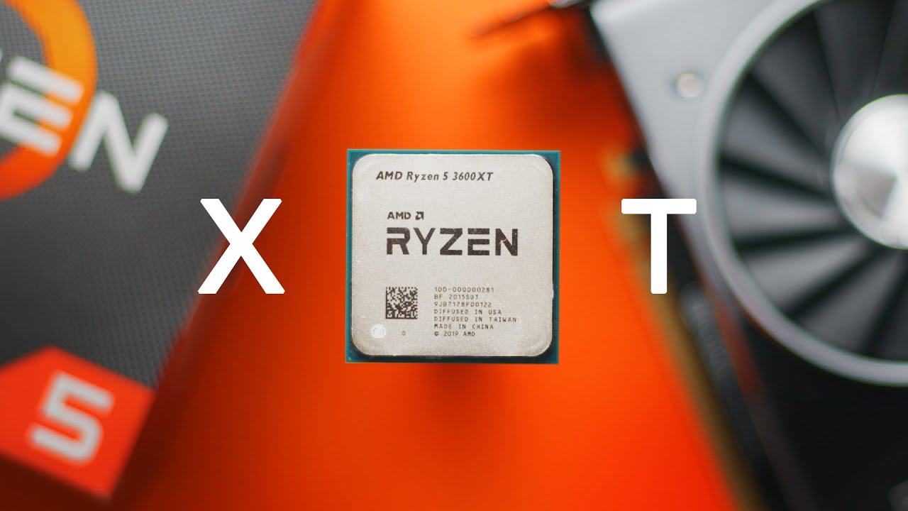 AMD RYZEN 5 3600XT 6-Core  3.8 GHz (4.5 GHz Max Boost)