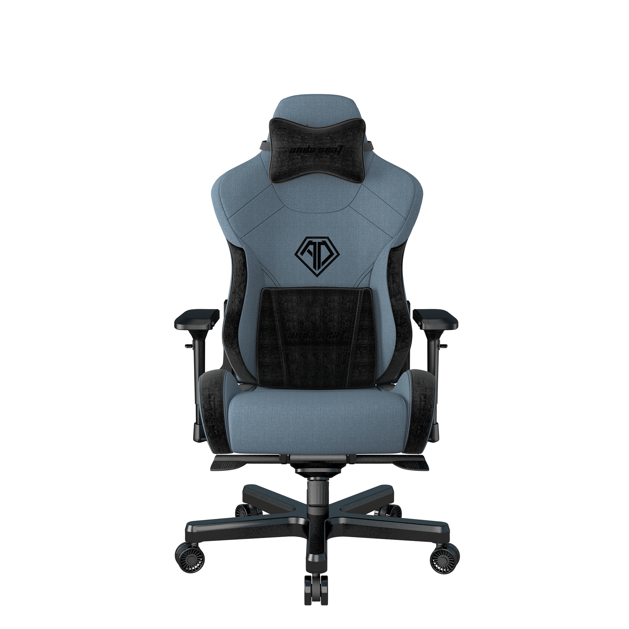 Anda Seat T-Pro II Premuim Gaming Chair Blue and Black