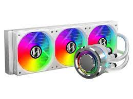LIAN LI Galahad 360 AIO White RGB Closed Loop CPU Cooler