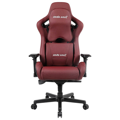 Anda Seat Kaiser Series Black / Maroon V2 Premium Gaming Chair