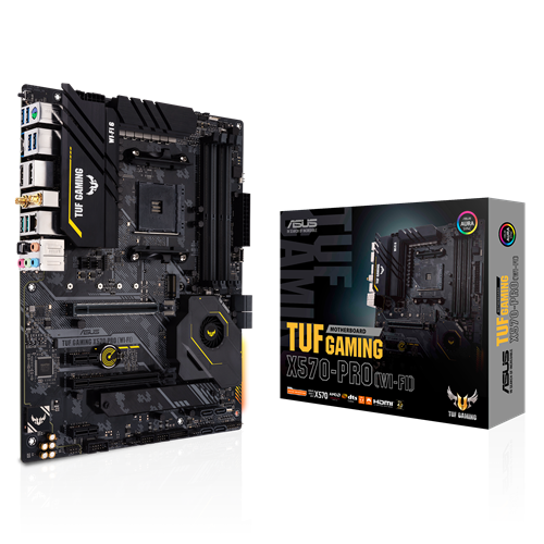 ASUS TUF GAMING X570-PRO (WIFI)/AM4,X570,USB3.2,PCIE 4.0,M