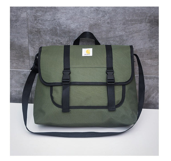 2019CARHARTT Carhart messenger bag shoulder bag Tide brand homemade frock girl Boy Messenger Bag