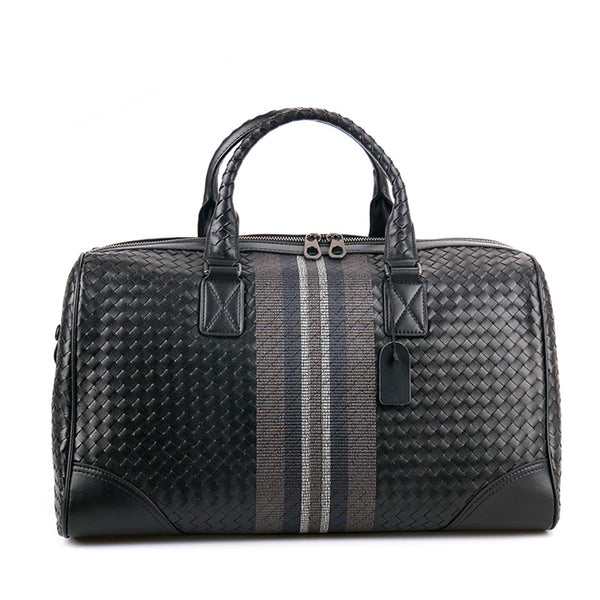 Hand-woven Leather Handbag