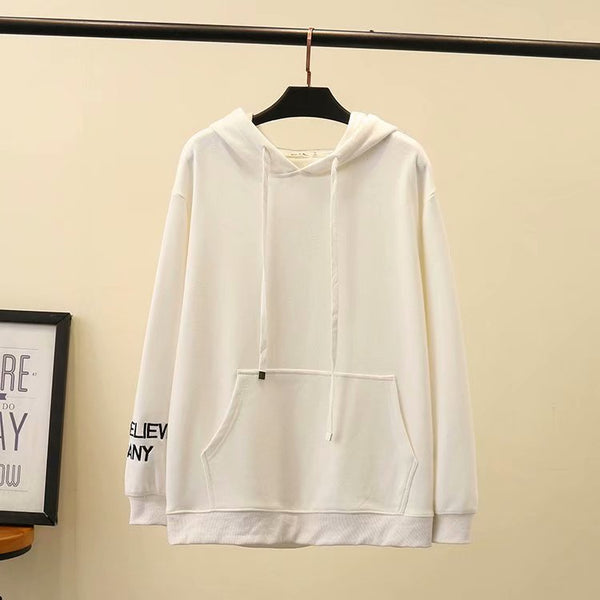 Over Sized Basic Hoodie