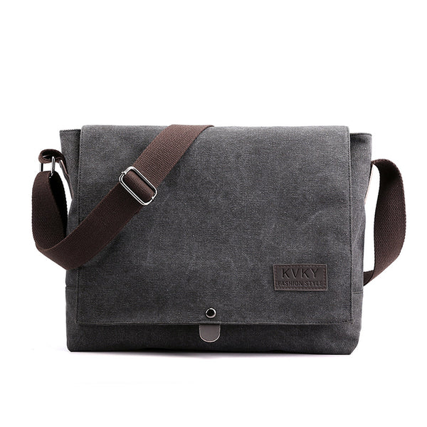 Large Capacity Canvas Messenger Bag