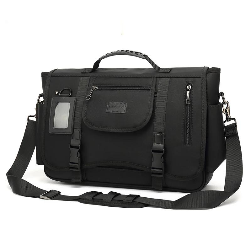 Manufacturers, wholesale men shoulder computer bag Messenger bag large capacity outdoor travel oxford messenger bag
