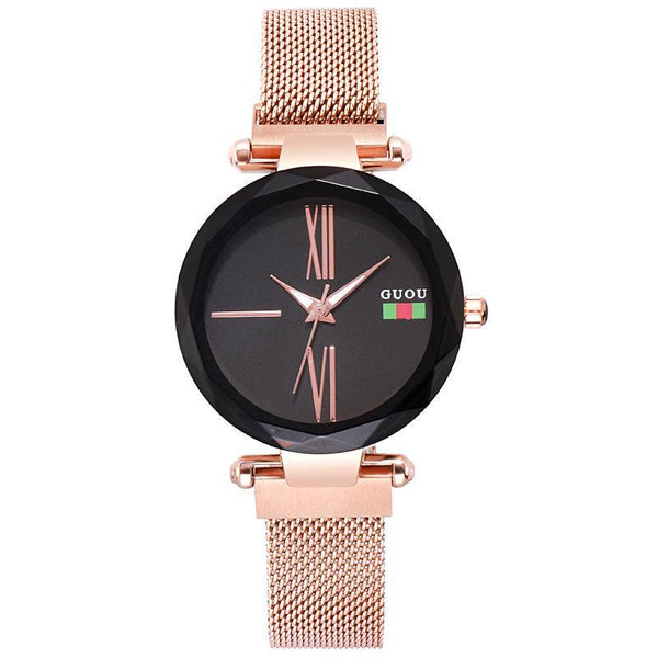 Trendinggate.com 2018New ancient Watch women's simple fashion trend women's watch waterproof net red shake sound the same generation