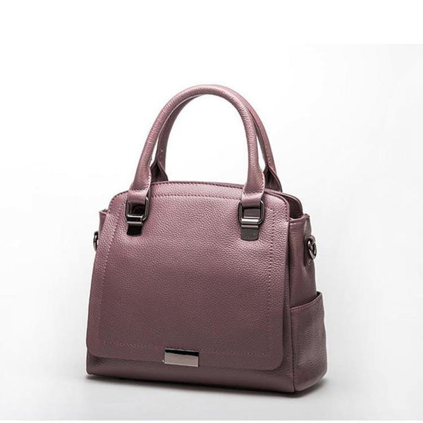 Trendinggate.com 2019Europe and the United States new leather women's handbag strap leather one-shoulder slanted fashion women's bag Guangzhou manufacturers
