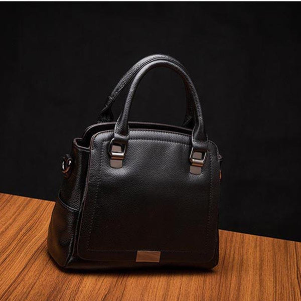 Trendinggate.com black 2019Europe and the United States new leather women's handbag strap leather one-shoulder slanted fashion women's bag Guangzhou manufacturers