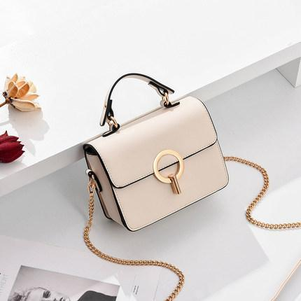 Trendinggate.com off-white; shell 2019In the new summer, the small bag is foreign fashion oblique satchel ins super fire network celebrity Xiaofang bag carries the oblique satchel bag by hand.
