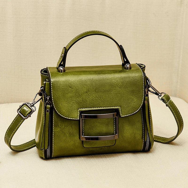 Trendinggate.com Green 2019New Fashion Summer Bag Korean Version Retro Port Wind Hand Slant Bag Texture Boston Bags