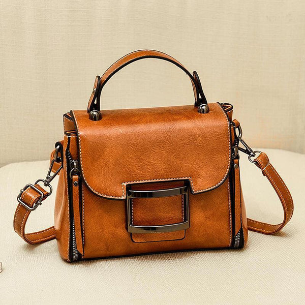Trendinggate.com Yellow 2019New Fashion Summer Bag Korean Version Retro Port Wind Hand Slant Bag Texture Boston Bags