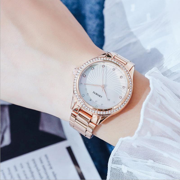 Trendinggate.com 2019New French Minority Watch Female Student Simple Temperament Fashion Waterproof Quartz Watchnet Red Watch
